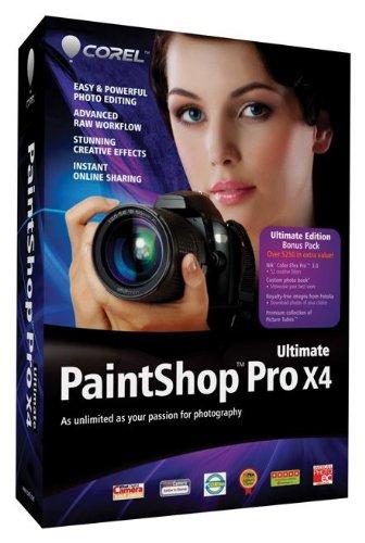 Corel PaintShop Pro X4 Ultimate [Old Version]