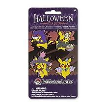 Gengar, Duskull, Golbat, and Mismagius Costume Pikachu 4-Pin Set