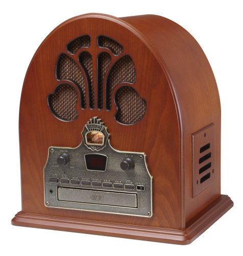 Hynbase Resin Crafts Home office Ornaments Decorational Retro Nostalgia Old Radio Money Bank Piggy Bank