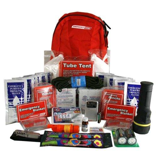 Deluxe Emergency Kit-2 Person, Emergency Zone Brand, Disaster Survival Kit, 72 Hour Kit