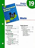 img - for Holt Environmental Science Chapter 19 Resource File: Waste book / textbook / text book