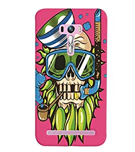 Asus Zenfone Selfie ZD551KL MULTICOLOR PRINTED BACK COVER FROM GADGET LOOKS