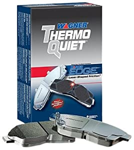Wagner MX354 ThermoQuiet Semi Metallic Disc Brake Pad Set - Rear
