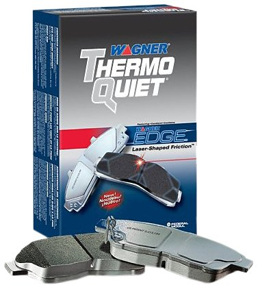Wagner Mx727 Thermoquiet Semi Metallic Disc Brake Pad Set front-69179