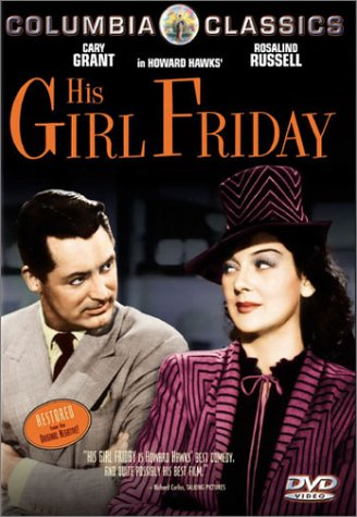 Cover art for  His Girl Friday