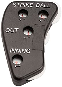 Buy Mpowered Baseball Four Function Umpire Indicator (Plastic) by M^POWERED BASEBALL