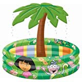 Dora the Explorer Inflatable Palm Spring Poolby Born To Play