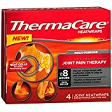 ThermaCare Multi-Purpose Joint Pain Therapy HeatWraps, 4 Count