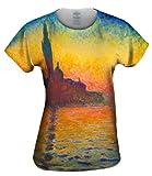"Claude Monet - ""Venice Twilight"" -Tagless- Womens Shirt-2X"