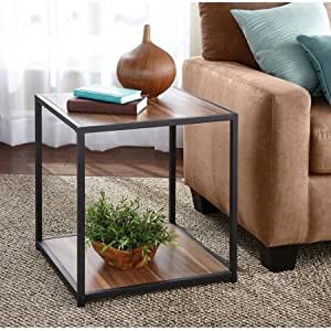 Unique Design Stylish Mainstays Living Room Furniture Metro Desk Side End Table 2