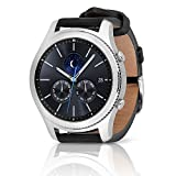 Samsung Gear S3 Classic SM-R770 Smartwatch - Black Leather w/ Large Band (Certified Refurbished) (Color: black)