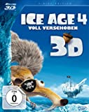 DVD Cover 'Ice Age 4 - Voll verschoben  (+ BR) [3D Blu-ray]