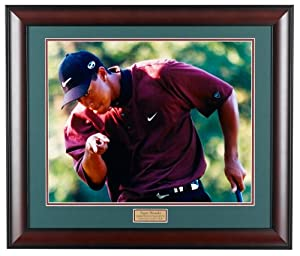 Golf, Gifts, & Gallery 2809F Tiger Woods Framed Photography Print by Golf Gifts & Gallery