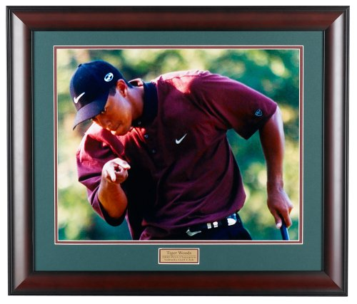 Golf%2C+Gifts%2C+%26+Gallery+2809F+Tiger+Woods+Framed+Photography+Print