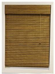 Calyx Interiors Bamboo Roman Window Shade, 31 by 74-Inch, Dali Natural