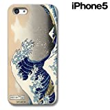 CollaBorn iPhone5専用スマートフォンケース 神奈川沖浪裏 【iPhone5対応】 CB-I5-005