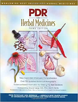 Pdr Herbal Remedies Physicians Desk Reference For Herbal