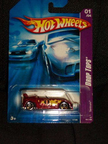 Hot Wheels 2007-081 Drop Tops Tantrum RED 1:64 Scale - 1