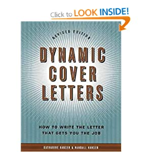 Dynamic cover letters for How to write a dynamic cover letter