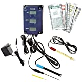 Hanna Instruments HI981504/7-01 pH/TDS/Temperature Monitor with Backlit LCDs, 0.0 to 14.0 pH, 0.1 pH Resolution, +/-0.2 Accuracy, 115V, TDS factor 0.7