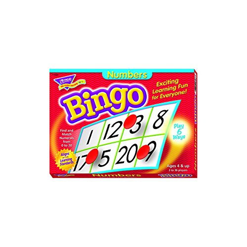 Lowest Price! Numbers Bingo Game