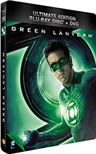Green Lantern - Combo Blu-Ray + DVD - Steelbook format Blu-Ray - Collection DC COMICS [Blu-ray] [Combo Blu-ray + DVD - Édition boîtier SteelBook]
