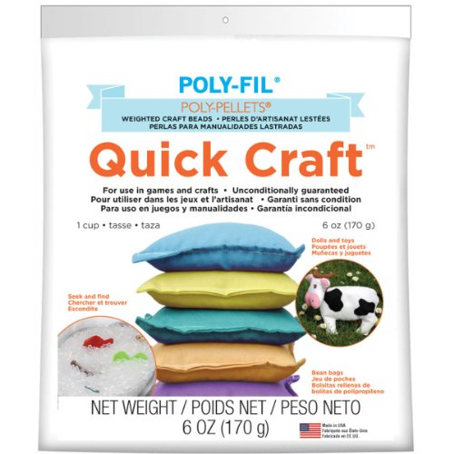Poly-Pellets Quick Craft Weighted Craft Beads-6oz