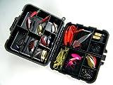 1set(33pcs in 1box) Laser Spinner Metal Lure Soft Fishing Lure Box Set Kit