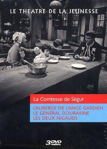 Coffret Le théâtre de la jeunesse La comtesse de Ségur : L'auberge de l'ange gardien / Les deux nigauds / Le general Dourakine