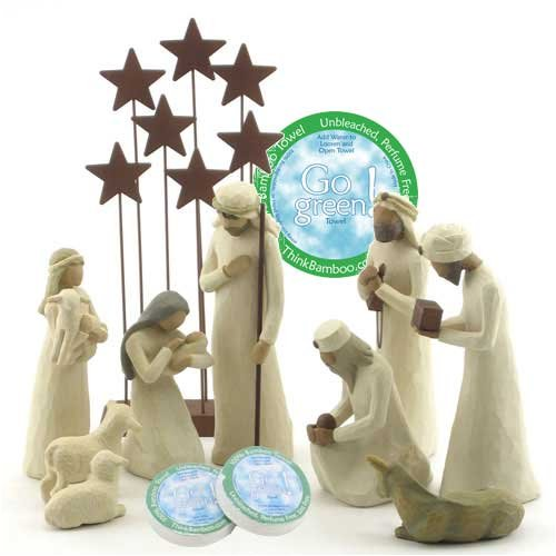 Willow Tree 10 Piece Starter Nativity Set By