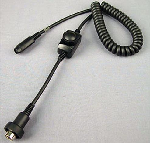 J&M Z-Series Lower 8-pin Cord with Volume Control HC-ZBV