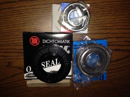 Front Load W10253866 Washing Machine Bearing & Seal Repair Kit (HE3 or Duet)