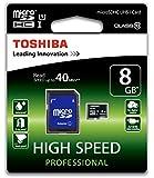 Toshiba 8GB MicroSDHC Card - UHS-1