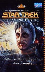 Star Trek - Deep Space Nine 4.04: Kleine grüne Männchen/Das Wagnis [Alemania] [VHS]