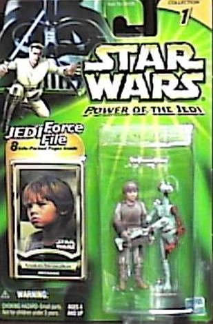 Star Wars Power of the Jedi Mechanic Anakin Skywalker Action Figure
