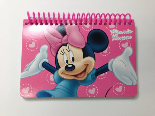 Disney Minnie Mouse Pink Spira…
