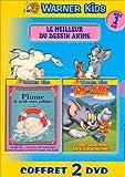 echange, troc Coffret Le meilleur du dessin animé 2 DVD : L'Ours, plume / Tom et Jerry : Les Meilleurs courses poursuites