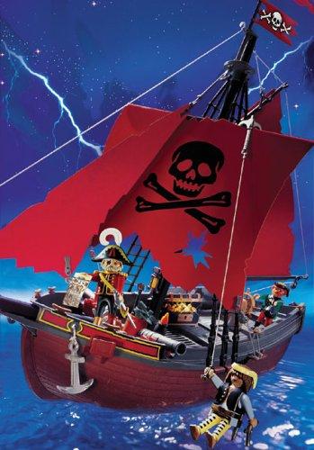 Playmobil 3174 red barco pirata for Barco pirata playmobil
