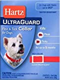 Hartz UltraGuard Collar For Dogs, Red