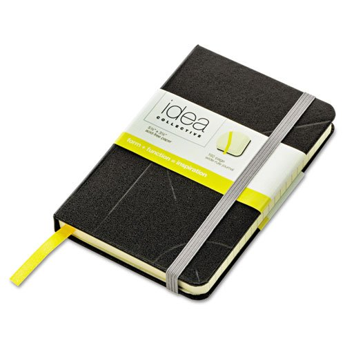 Tops - Idea Collective Journal, Hard Cover, Side Binding, 5-1/2 X 3-1/2, Black 56874 (Dmi Ea