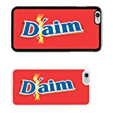 Chocolate Wrappers cover case for Apple iPhone 6 & Plus - White - T765 - Daim Bar - White