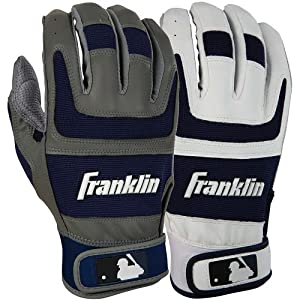 Shok-Sorb Pro Series Home and Away Adult Batting Gloves League: MLB, Size: xl, Color:... by Franklin