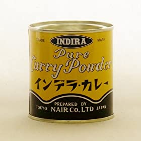 �i�C������ �C���f���J���[ �X�^���_�[�h NAIR INDIRA Pure Curry Powder 100g