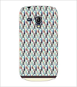PrintDhaba Bottle Pattern D-1942 Back Case Cover for SAMSUNG GALAXY S3 MINI (Multi-Coloured)