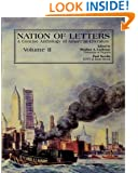 Nation of Letters: A Concise History of American Literature, Vol. 2