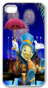 Disney Jiminy Cricket Custom Iphone 4 4s Case Well-designed Hard Case Cover Protector For Iphone 4 4s Case