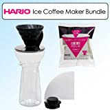 Hario Vic-7b Fretta V60 Ice Coffee Maker with Extra Filters Pack