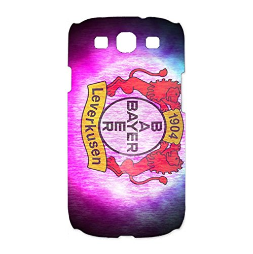 Bayer 04 Leverkusen Fu?ball GmbH Phone Case Colourful 3D Phone Shell snap on Samsung Galaxy S3 I9300with Team Logo