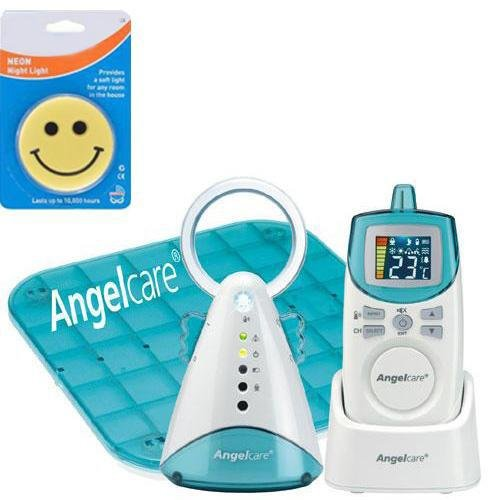 Angelcare Ac-401 New Model Movement Sensor With Sound Monitor With Night Light front-835660