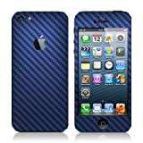Carbon Fiber Skin Full Body Sticker For iPhone 5